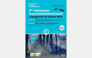 6e Halloween Mountainbiketoertocht